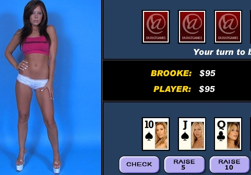 Video Strip Poker with Brooke Lima