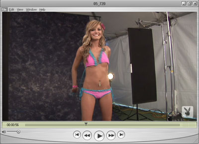 Brittney Video - She's wearing Pink Bra & Panties, will she lose them?