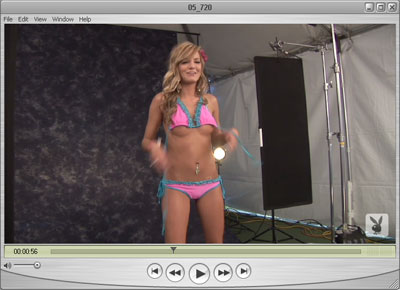 Brittney Removing her Top - Nice!