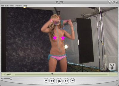 Brittney Topless in Playboy
