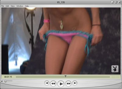 Brittney's Panties are about to come down!!