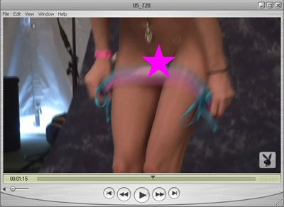 Panties down Fun!  Brittney has plucked up the courage to remove her panties