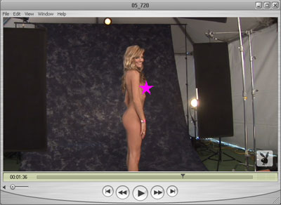 Brittney Completely Naked for Playboy