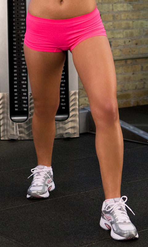 Fit legs and Tight Shorts