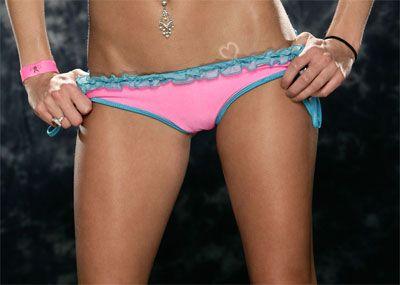 Brittney's Cute Pink Panties