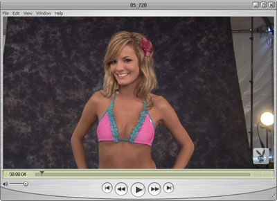 Brittney Video for Playboy Golf
