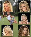 Playboy Golf Girls Pose for One Time Only