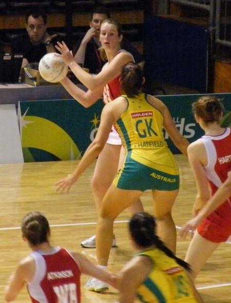 Australian Netball Up Skirt