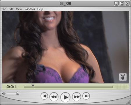 Chantel in her Posh Purple Bra & Panties