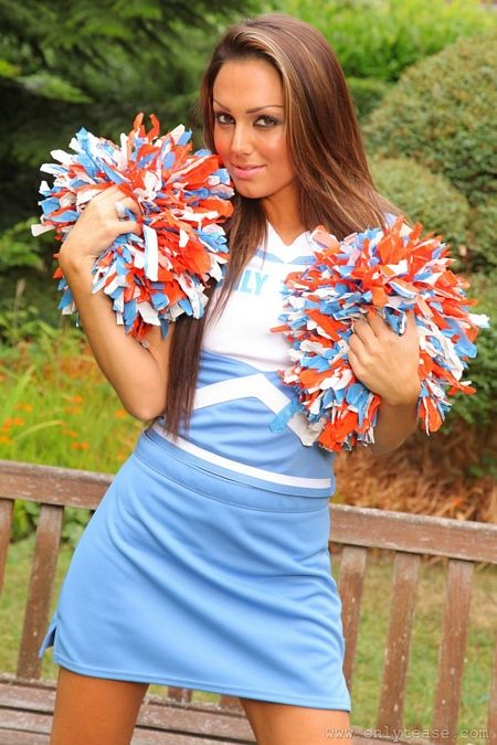 Cheerleader Jamie would cheer anyone up