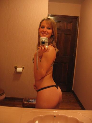 Brunette ExGF Selfpic