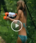 Bikini Water Fight