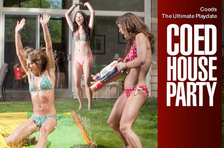 Think, that hayden hayes coed house party nude