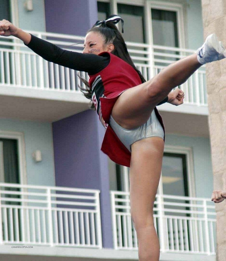 Cheerleader Upskirt