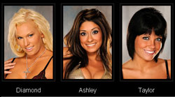 The Girls of the San Antonio Playboy Casting Calls