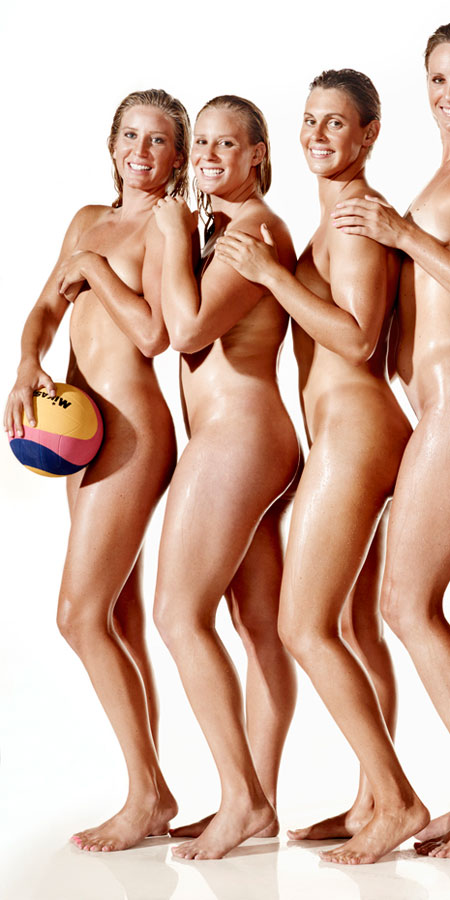 US Women's Water Polo Team Bares All