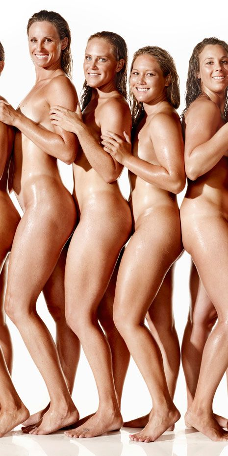 Water Polo Team Poses Naked