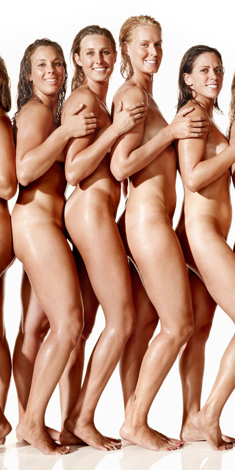 Nude Water Polo Players