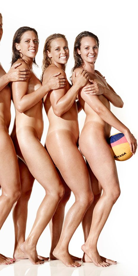Water Polo Team Naked