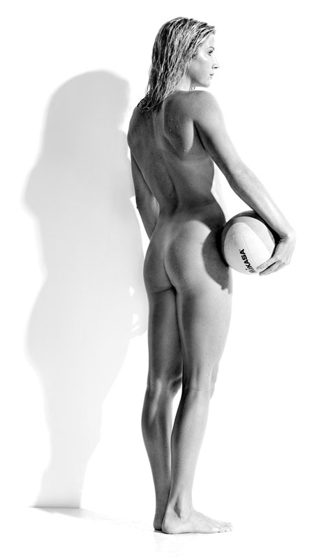 Fit Water Polo Player Nude
