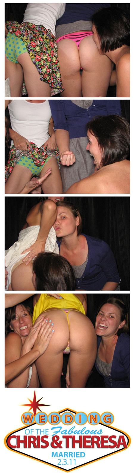 Photobooth Upskirt Flashing