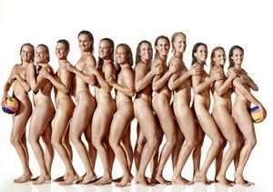 US Water Polo Team Completely Nude