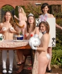 Naked Calendars from the UK – Bristol, Oxford and Newcastle
