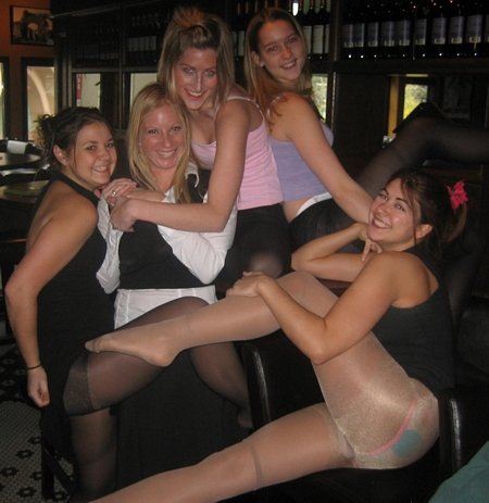Party Girls and Pantyhose