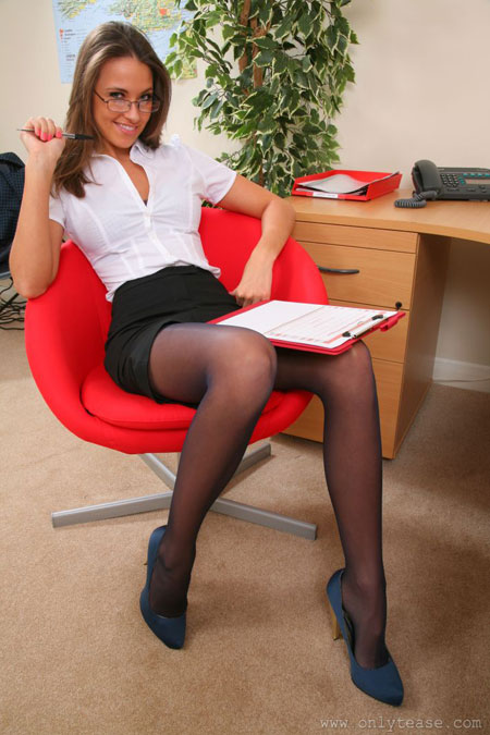 UK Office Upskirt