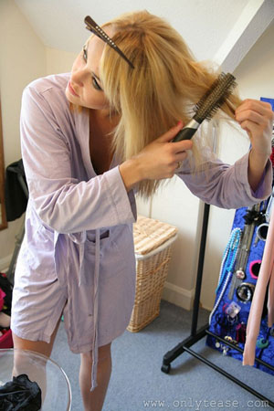 Blonde Babes in the Dressing Room