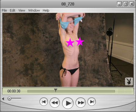 Haley takes her Bikini Top Off