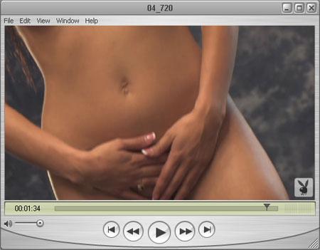Rebekah in Hand Panties