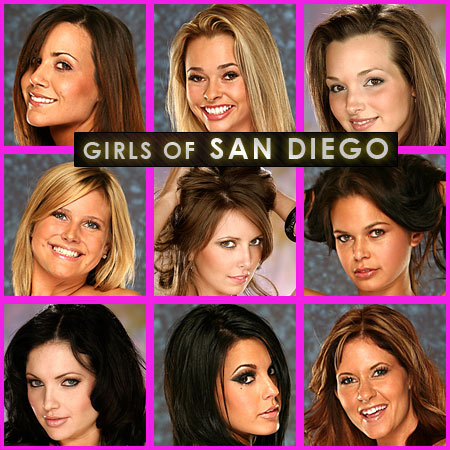 The San Diego Casting Call Girls from December 2008
