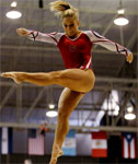 19yo Gymnast Shawn Johnson at the Pan American Games