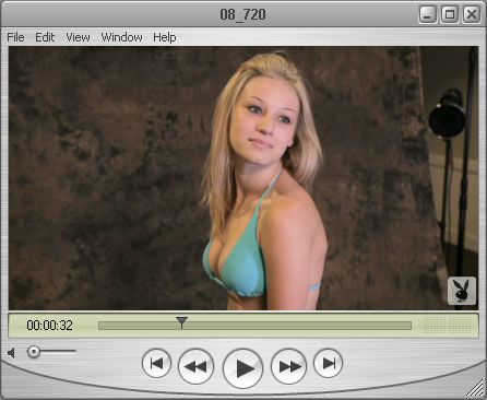 Shy Haley wants to keep her Bikini On