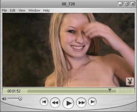 Shy Blonde Haley