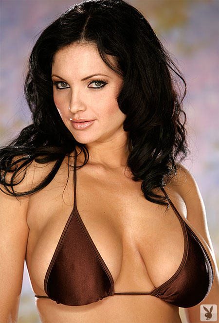 Venus Poses for Playboy in San Diego