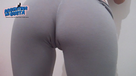 Cameltoe from Behind