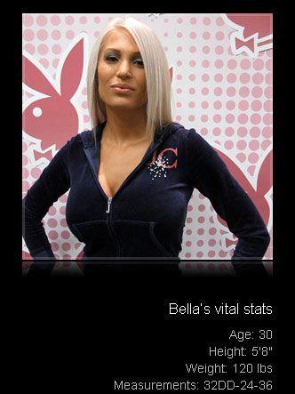 Blonde Bella at the Houston Playboy Casting Call