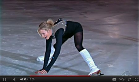 Can Elisabeth Hasselback do the Splits?