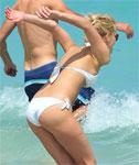 Lindsay Ellingson Beach Candids