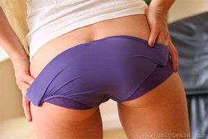 Anastasia's Cute Purple Panties