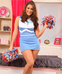 Cheerleader Upskirt and Cameltoe