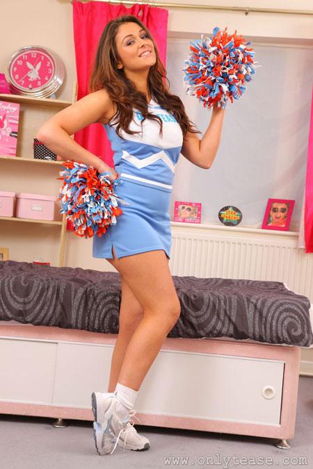Cutie Cheerleader Caitlin