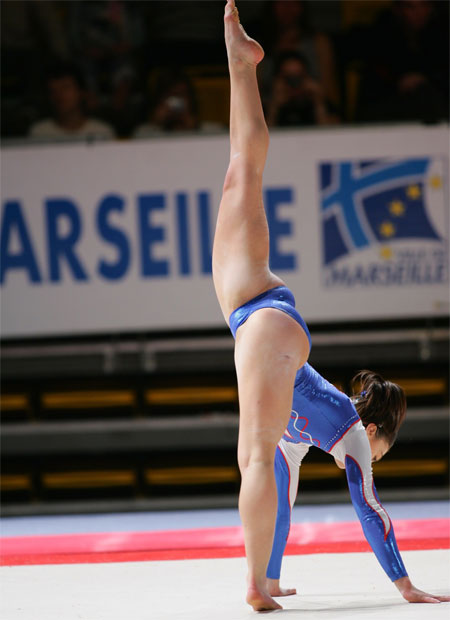 Nude female athletes upskirt