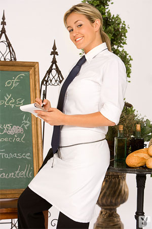 Olive Garden Waitress Katie
