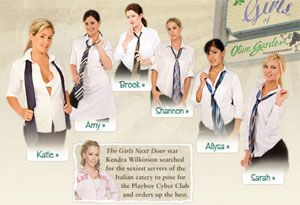 Girls of the Olive Garden