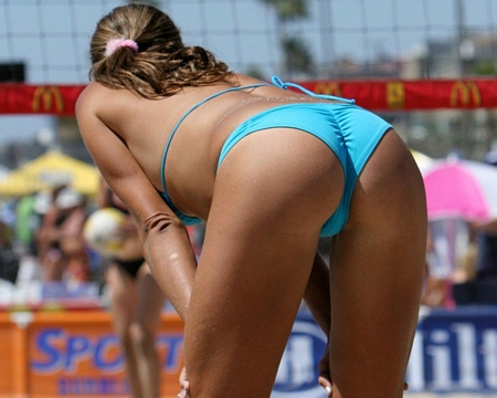 Beach Volleyball - Sexy Ass