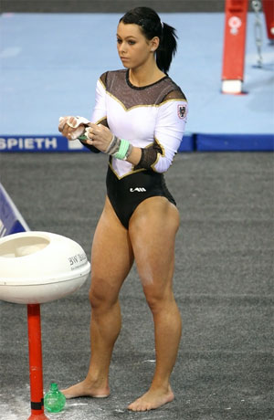 Gymnast in a Leotard
