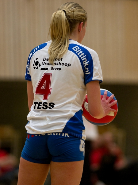 Blonde Volleyball Player